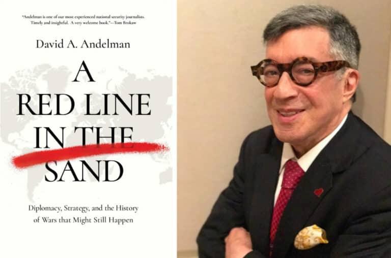عرض لكتاب خط أحمر في الرمال: الدبلوماسية، والاستراتيجية، وتاريخ حروب قد تحدث