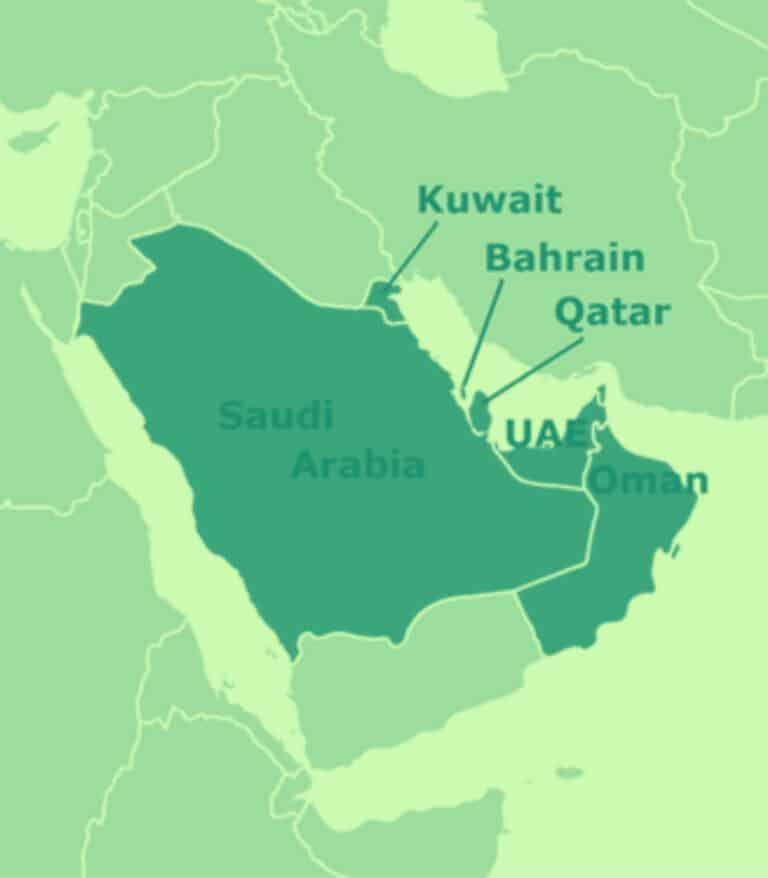 الأنظمة الصغيرة في الشرق الأوسط